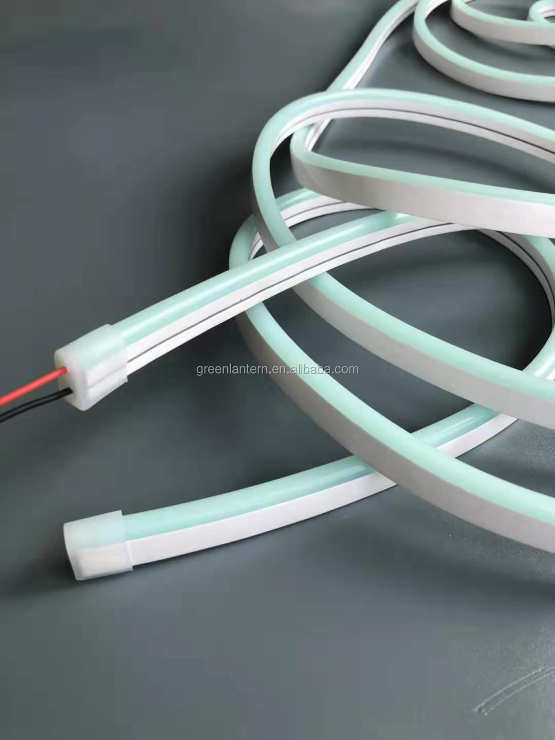 silicone LED neon strip flex w/ww/G/B/R/P/O all colors for you