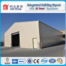 China supplier LIDA warehouse high rise steel structure factory building