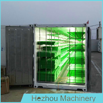 capacity 1 ton per day grass fodder making machine / green barley fodder sprouting unit for animal cattle horse