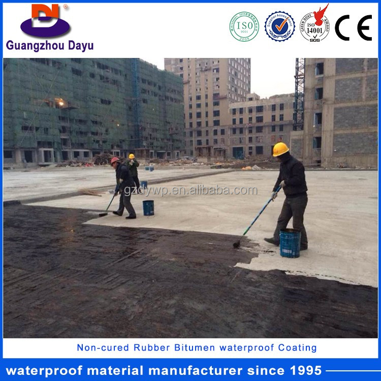ISO Certificate High Quality Rubber Bitumen Basement Waterproofing Products