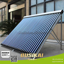 Manifold solar water heater collector