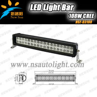 "Stainless steel 15"" 108W C REE High Power Off Road Led Light Bar, accessories offroad led light"