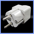 Multi Socket 4.8mm Euro EU Plug 10A 250V Universal Germany AC Converter European Power Plug