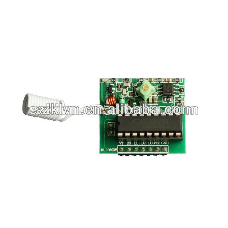 DC3V 433Mhz Stability RF Decoding Receiver Circuit Board (KL-YK05)