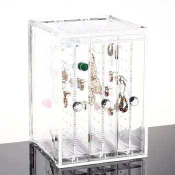 Acrylic Earring Display Stand Organiser Holder jewelry display