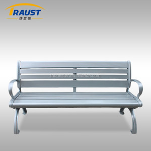 Classical cast aluminum garden benches/patio chair