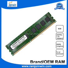 Wholesale computer parts used desktop 8gb ram ddr3 1600mhz