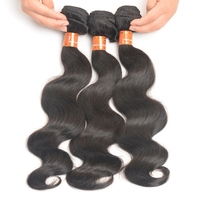 "Fashionable 6A Grade Body Wave Remy Hair Weaving 8""-28"" In Stock, Full Cuticle Brazilian Virgin Hair"