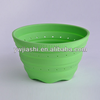 Hot Sell Silicone Collapsible Kitchen Bowl/Foldable kitchen washing basin