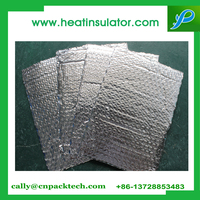 Construction material silver thermal insulation bubble roll roof shield