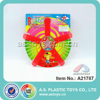 Star Plastic Flying Disc / Boomerang for Outdoor Sports