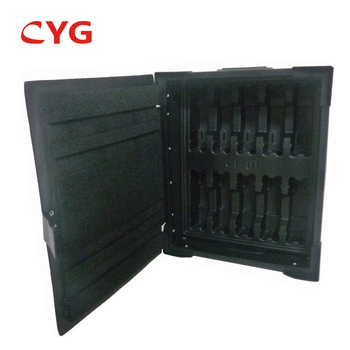 Closed Cell Polyethylene Shock Absorb Conductive  Plastic Box  Insulation  Foam