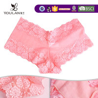 Professional Pretty Hot Girl Plus Size Elastic Lace For Underwear