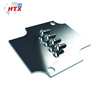 Cylinder-shaped metal machining electrical enclosure accessories rapid prototype for air conditioner parts