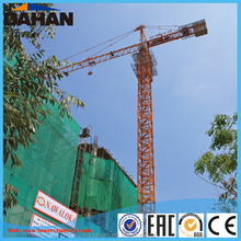 QTZ160(6024) 10T Tower Crane Lifting Capacity with Joystick