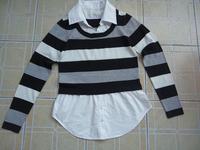 latest womens fake shirts collar 100 cotton pregnancy maternity clothing