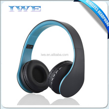 Cheap mp3 wireless headphone without wire, over ear wireless bluetooth stereo headset, earphone headphone bluetooth with mic