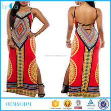 OEM service summer cheap price sexy Indian party women dresses