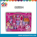 Hot selling kids girl toys plastic cosmetic set Children makeup toy set kids cosmetic brands