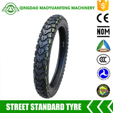 china best quality off road motorcycle tyre 2.75-17 with inner tube or tubeless tyre