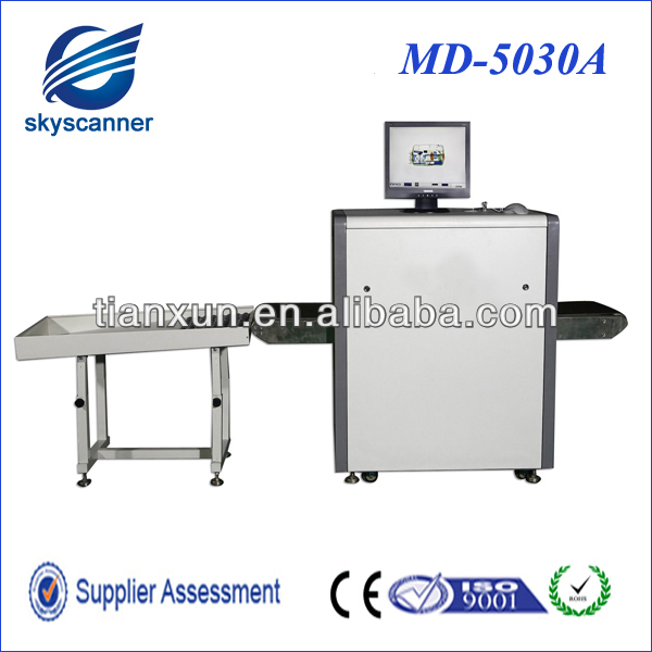 Super Wand Checking Airport Security Scanner X Ray Inspection Equipment