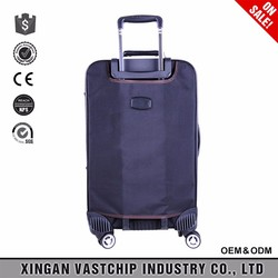 2016 business nylon trolley school bags&trolley luggage with luggage wheels parts