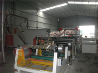 Extrusion roll laminating machine