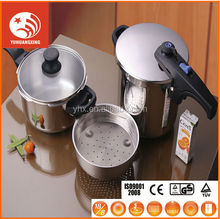 electric gas industrial stainless steel pressure cooker cookware set
