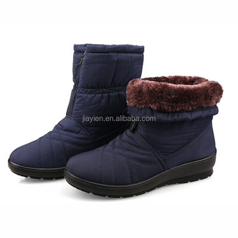 Free Shipping Plus Size Waterproof Flexible Cube Woman <strong>Boots</strong> High Quality Cozy Warm Fur Inside Snow <strong>Boots</strong> Winter Shoes Woman
