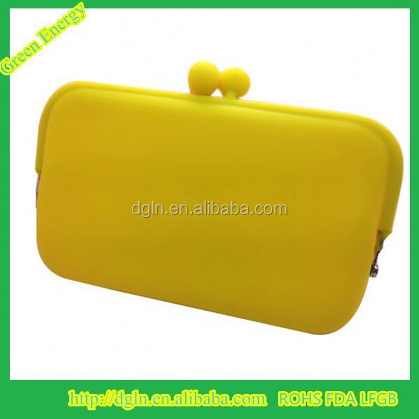 Colorful silicon wallet/notecase/burse