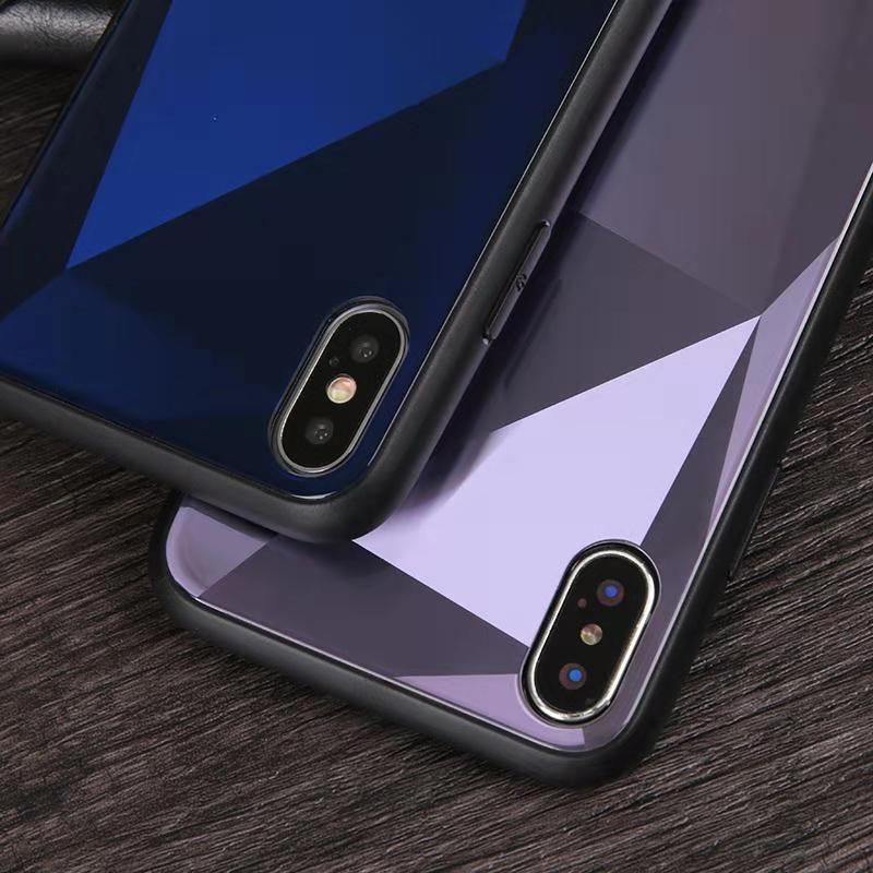 2019 New Product Tempered glass Cell phone case <strong>cover</strong> for iphone x xs max xr 6 6s 7 8 plus