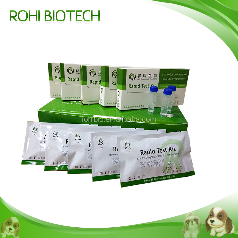 Canine Rabies (CRV)Virus Antibody Rapid Test Kits/Gog's disease rapid test/vetrinary diagnostic card from China