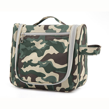 Stylish customized mens travel hanging toiletry bag camouflage military toiletry bag