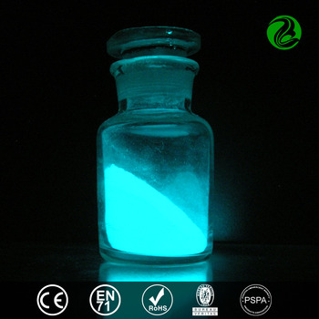 Strontium aluminate photoluminescent pigment glow in the dark