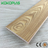 New Indoor Decor Material - WPC Vinyl Flooring Planks