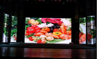 Manufacture direct rental Indoor flexible soft stage light display roll up led video screens p2