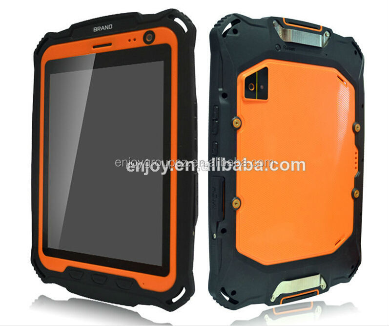 Military Quality, Rugged Waterproof 7 inch smart android tablet uhf rfid reader