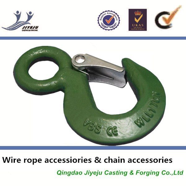 Lifting rigging accessories wire rope cable eye hook