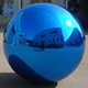 Custom Color Giant Inflatable Mirror Ball, Floating Inflatable Mirror Balloon For Advertising