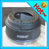 Semi-trailer / truck disc brake drum for BPW SAF Volvo 66864F 3600A