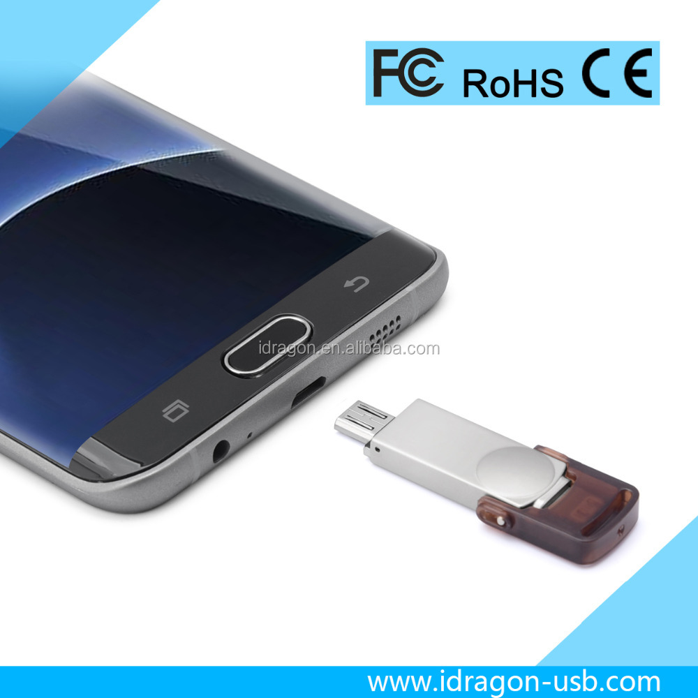 low cost mini usb flash drive for iphone mobile phone OTG U disk