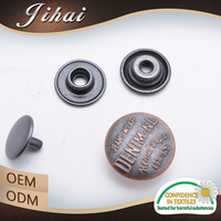Elegant Solid Brass Snap Button Dress Buttons Decorative Fasteners For Shoes