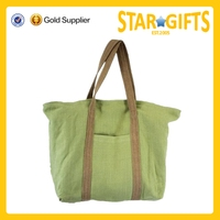 2015 Alibaba China eco recyclable excellent jute shopping bag with zipper closure