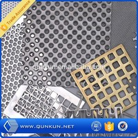 1mm hole galvanized perforated metal plate punching hole mesh price