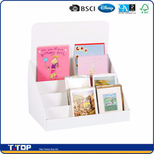 Cardboard Greeting Card Displays Stand For A5 and A6 cards