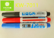 Amozon hot sell promotional office stationery whiteboard marker pens can refill ink recyclable
