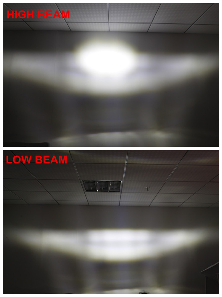 LOYO Patented 4x6 Rectangle LED Headlight With DRL for Truck
