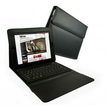 bluetooth tablet keyboard with leather case,case with bluetooth keyboard
