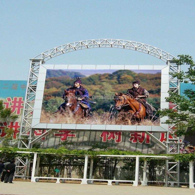 High Steability 1R1G1B Full Color LED Display/P10 Video Panel