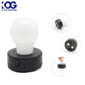 Portable Bulb Shape with Magnetic base Children Promotional LED Tent Camping Work Light